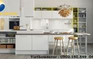 Chiêm ngưỡng vẻ đẹp của tủ bếp Acrylic