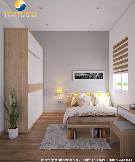 Kết quả hình ảnh cho thiết kế hòng ngủ cho nhà ống chật hẹp
