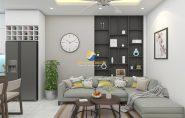 Thiết kế nội thất nhà phố đẹp, phong cách hiện đại