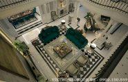 Thiết kế nội thất biệt thự đẹp phong cách Neo classical