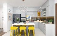 Thiết kế nội thất chung cư Imperia Garden căn hộ ba phòng ngủ