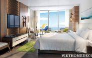 Mẫu thiết kế phòng ngủ khách sạn sang trọng và tiện nghi