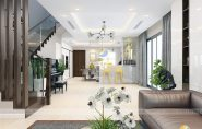 Thiết kế nội thất biệt thự Gamuda hiện đại, sang trọng