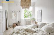 Phòng ngủ thiết kế hợp phong thủy giúp vợ chồng chung sống hòa thuận