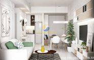 Bộ sưu tập những thiết kế phòng khách có không gian xanh