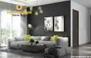 Thiết kế nội thất căn hộ Ngoại Giao Đoàn hiện đại