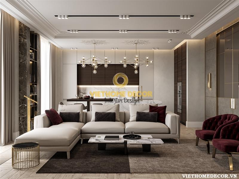 Thiết kế nội thất phòng khách cần tránh những sai lầm nào?
