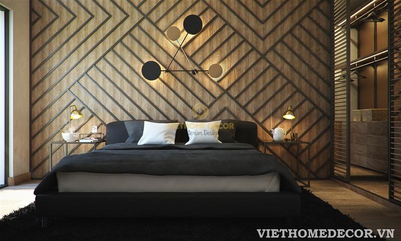 Thiết kế nội thất phòng ngủ đẹp, gọn gàng