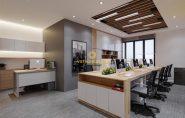 Thiết kế nội thất văn phòng công ty S+ Media Corporation Việt Nam