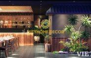 Thiết kế nội thất nhà hàng – Nhà hàng Hương Việt Sang trọng, chuyên nghiệp