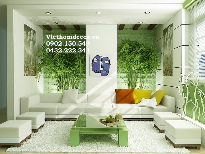 Thiết kế nội thất phòng khách cho gia chủ mệnh hỏa