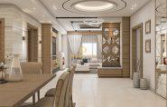 Thiết kế nội thất chung cư Thăng Long Number one hiện đại