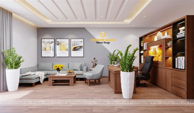 Thiết kế nội thất hợp phong thủy cho văn phòng đem lại tài lộc