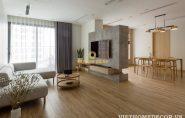 Hiện đại và tối giản với thiết kế nội thất gam màu trung tính