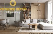 Thiết kế nội thất chung cư D'Capitale theo phong cách Bắc Âu