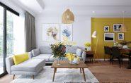 Nội thất chung cư giá rẻ cho căn hộ 2 phòng ngủ – chỉ từ 80 triệu