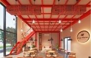 Thiết kế nội thất quán cafe D'Capital Trần Duy Hưng