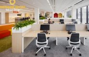 Thiết kế văn phòng làm việc công ty H&H Group