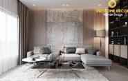 Thiết kế nội thất chung cư 3 phòng ngủ Sunwah Pearl – TPHCM